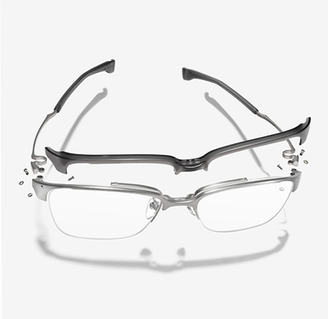 1fce1c19bd These are the two points we 999.9 (Four Nines) eyeglasses frame give value  to. We would not satisfy with only the accomplishment to give our creation  with ...