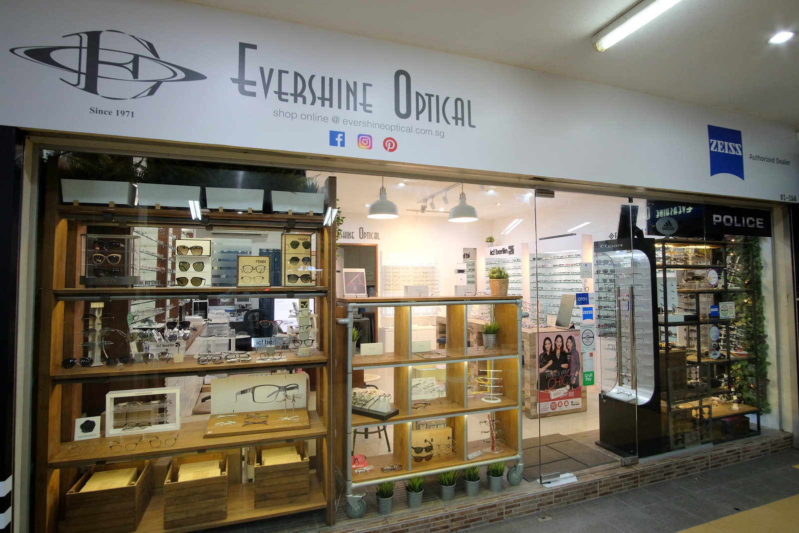 evershineoptical shop front